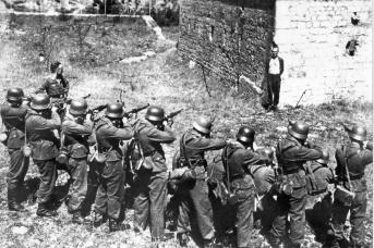 Нацистская расстрельная команда