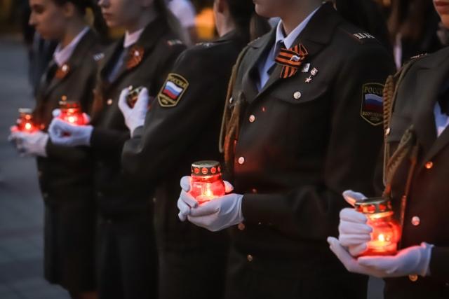 Акция «Свеча памяти» в Пятигорске