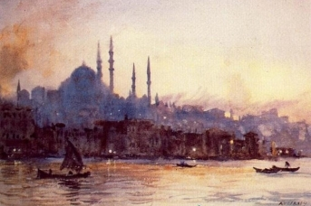 Джордж Оуэн Уайн Апперлей. Стамбул. 1930,