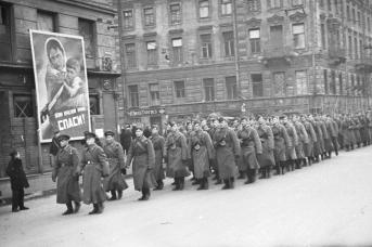 Ленинград, октябрь 1941
