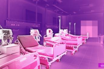 Инфекционные койки для госпитализации пациентов с COVID-19. Иван Шилов © ИА REGNUM
