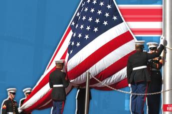 Флаг США, Иван Шилов © ИА REGNUM