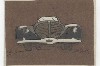 Тамби Владимир Александрович. Автомобиль. 1920-е