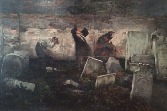 Самюэль Гиршенберг. На еврейском кладбище в Лодзи. 1892
