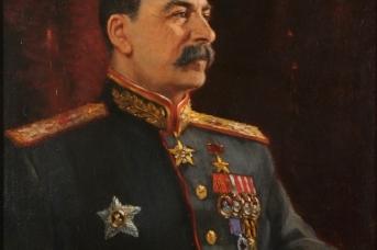 Герасимов А.М. Портрет И.В.Сталина. 1945,