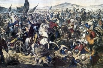 Адам Стефанович. Косовская битва. 1870