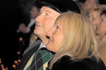 Юрий Лужков и Елена Батурина. Фото: Евгений Начитов