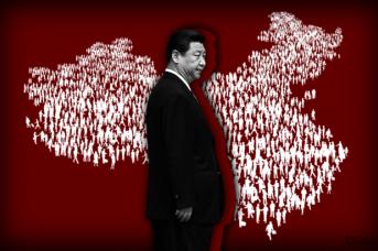 Си Цзиньпин и народ Китая. Иван Шилов © ИА REGNUM