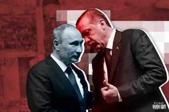 Президент России Владимир Путин и президент Турции Реджеп Эрдоган. Иван Шилов © ИА REGNUM