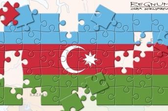 Флаг Азербайджана , Ольга Шклярова © ИА REGNUM