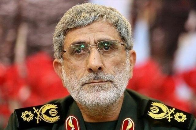 Новый глава иранской специальной службы «Аль-Кудс» Исмаил Гаани