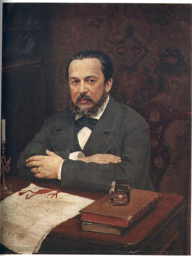 Портрет А.С. Уварова работы И.С. Куликова (1916)