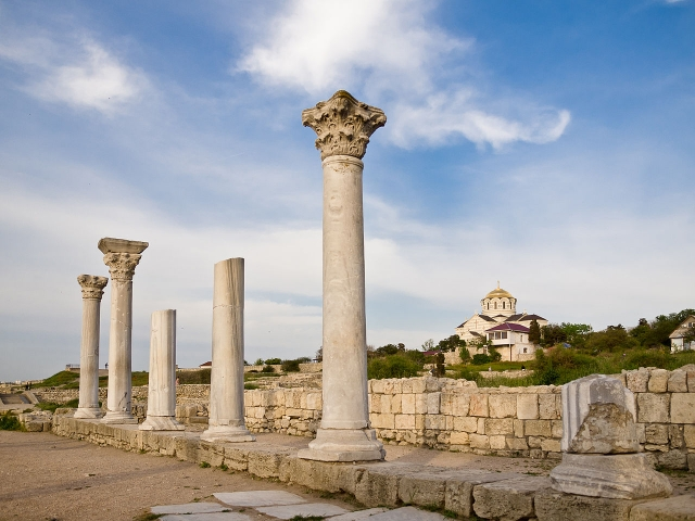 Херсонес Таврический — это античный город, основанный древними греками