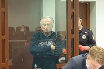 Олег Соколов на суде по делу об убийстве