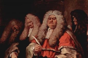 Уильям Хогарт. Суд. 1758