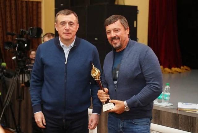Губернатор Сахалинской области Валерий Лимаренко и Олег Мисевра