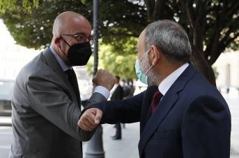 Встреча Никола Пашиняна и Шарля Мишеля. 17 июля 2021 года, Ереван, Primeminister.am
