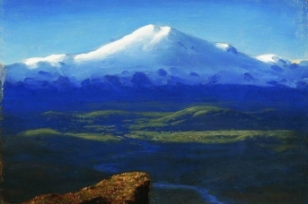 Архип Куинджи. Снежные вершины. 1895
