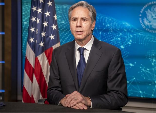 Госсекретарь США Энтони Блинкен