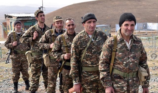 Бойцы армии обороны Арцаха