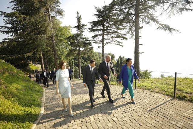 Президенты Грузии, Украины и Молдавии встретились в Петре. Грузия. 19.07.2021г.