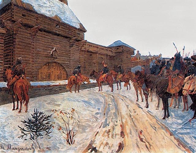 Василий Максимов. Татарское нашествие