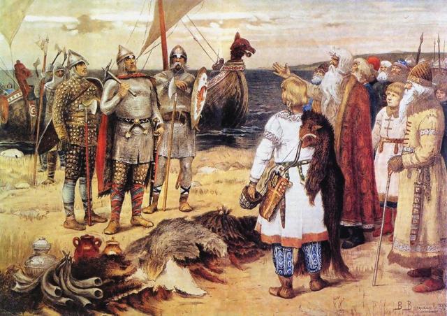 Виктор Васнецов. Варяги. 1913