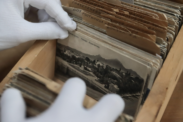 Фонды музея. Почтовые открытки