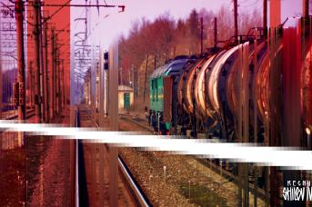 Товарный поезд. Иван Шилов © ИА REGNUM