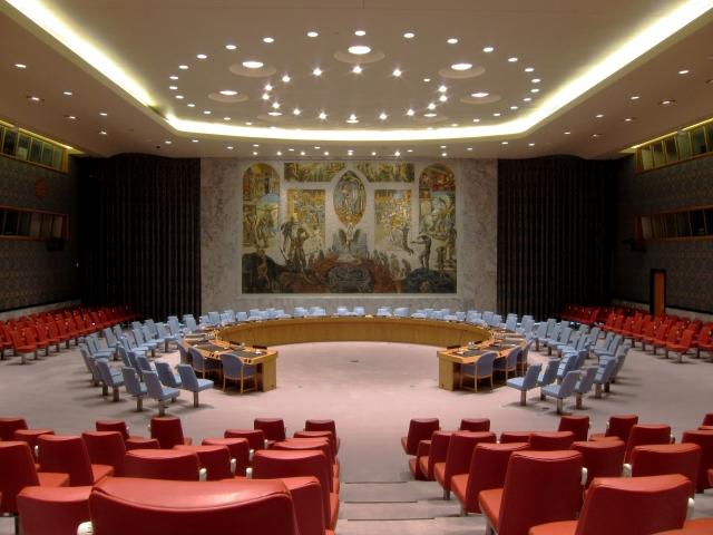 Зал заседаний Совета Безопасности ООН (cc) Neptuul
