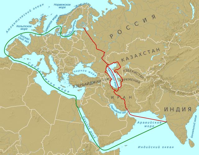 Международный транспортный коридор «Север — Юг»