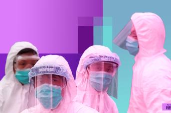 Борьба с коронавирусом. Иван Шилов © ИА REGNUM