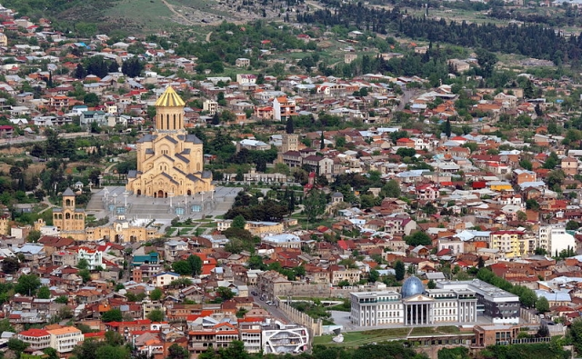 Тбилиси. Вид сверху