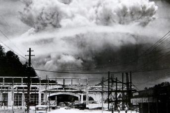 Атомный взрывов. Нагасаки. Япония. 1945