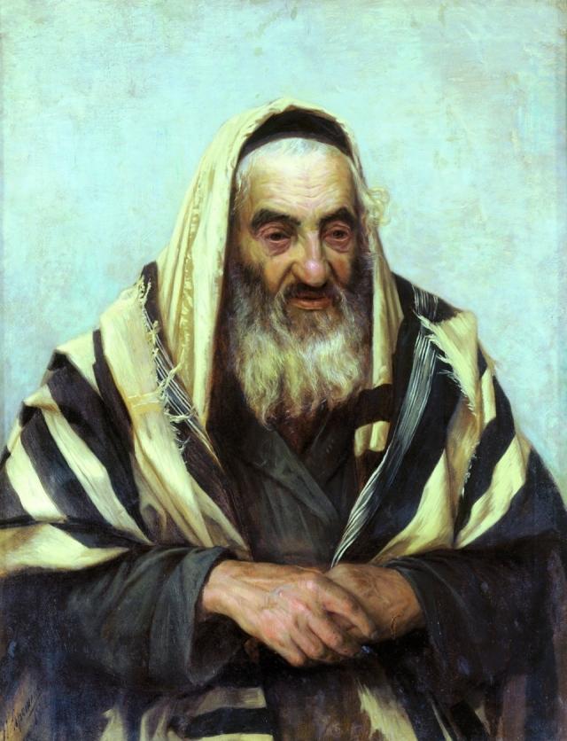 Николай Ярошенко. Старый еврей. 1896