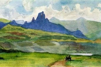 Василий Суриков. Минусинская степь. 1873