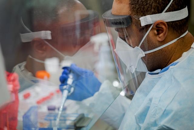 Тест на коронавирус. США
