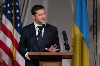 Владимир Зеленский во время визита в США. Фото: пресс-служба президента Украины