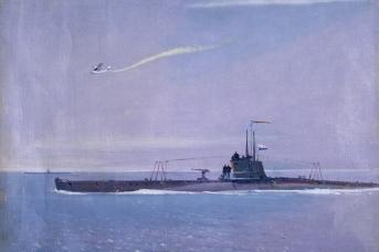 Нисский Г.Г. Подводная лодка. 1940-е