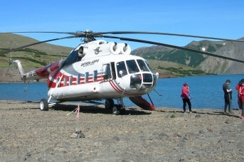 Вертолёт авиакомпании «Витязь-Аэро» на Камчатке © ИА Красная Весна