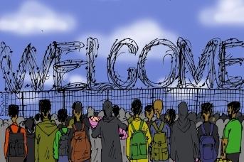 Приём беженцев. Александр Горбаруков © ИА REGNUM