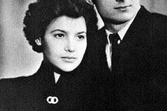Леонид Кравчук с женой Антониной