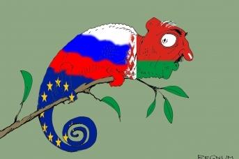 Лукашенко-хамелеон. Александр Горбаруков © ИА REGNUM