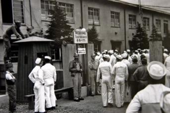 Американские военные в Японии. 1945