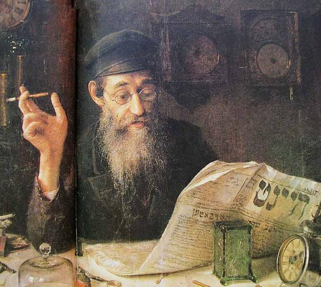 Юдель Пэн. Часовщик. 1914