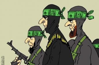 Террористы. Александр Горбаруков © ИА REGNUM