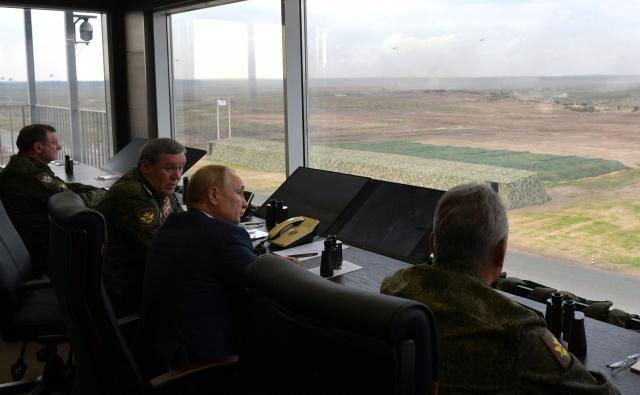 На полигоне Мулино в ходе основного этапа совместных стратегических учений вооружённых сил Российской Федерации и Республики Беларусь «Запад-2021»