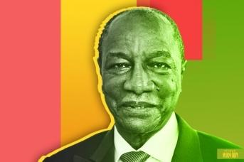 4-й президент Гвинеи Альфа Конде. Иван Шилов © ИА REGNUM