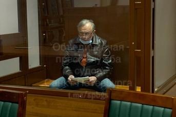 Осужденный Олег Соколов в суде