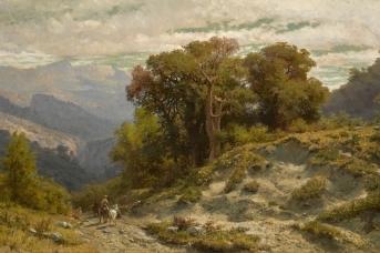 Лев Лагорио. Кавказский пейзаж. 1873